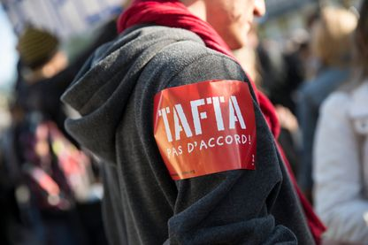 Journée internationale d'action anti TAFTA, Paris, 2015