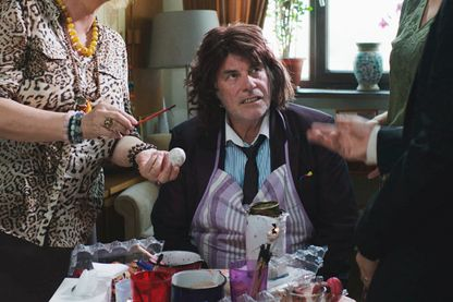 "Image extraite du film ""Toni Erdmann"" de Maren Ade, avec Peter Simonischek"