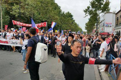 Entre 3000 et 4000 personnes ont manifesté contre les violences racistes envers la communauté chinoise