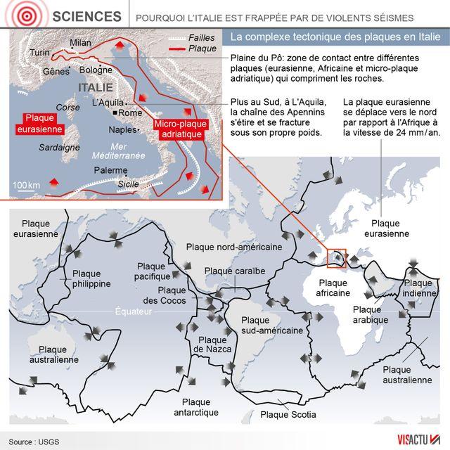 L'Italie, pays d'Europe le plus équipé en capteurs sismologiques