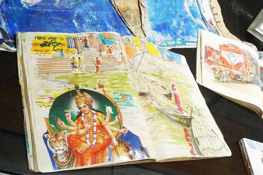 Carnet de voyage de Carla Sonia, en Inde, en 2006 et 2007