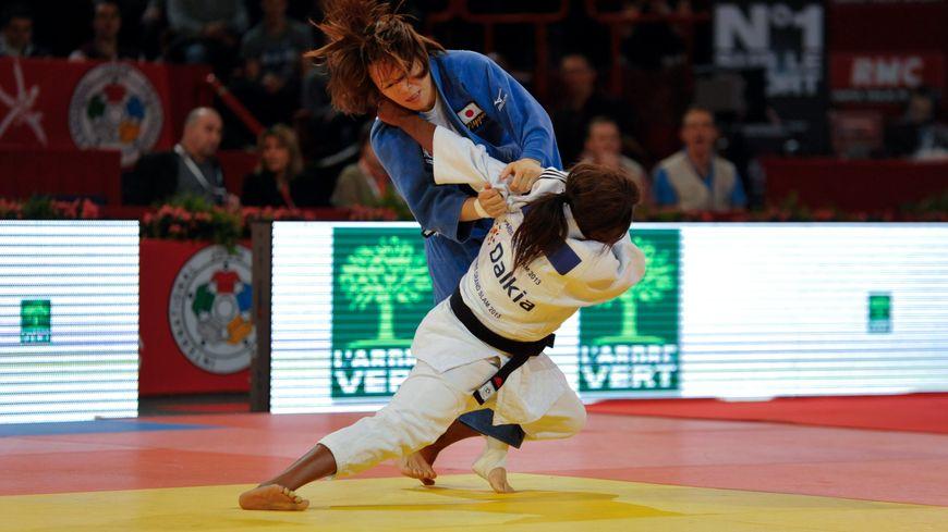 Prise de judo lors du tournoi de Paris en 2013