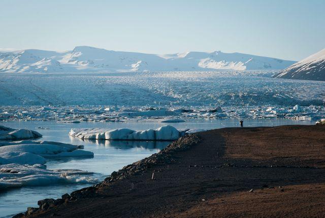 La mer de glace de Jökulsárlón