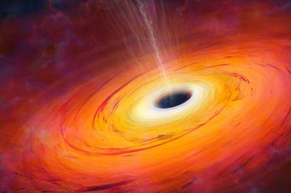 Un trou noir recréé par ordinateur