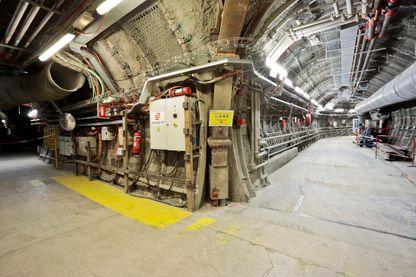 Laboratoire souterrain où sont menés études et recherches sur le stockage profond des déchets nucléaires à Bure