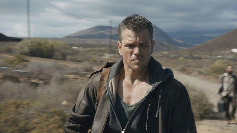 Matt Damon dans Jason Bourne de Paul Greengrass (2016)