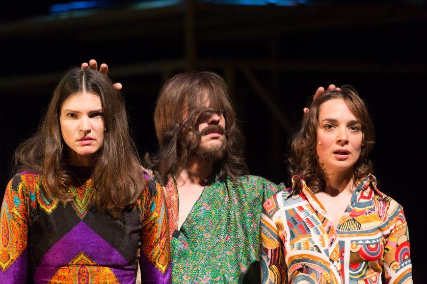 """Le spectacle """"Charles Manson - Summer of hate"""" lors de la première à Hambourg en 2014"""