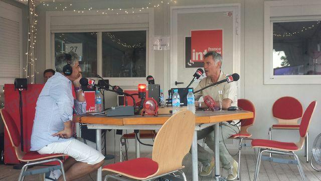 Didier et varrod et François Missonnier, directeur du festival