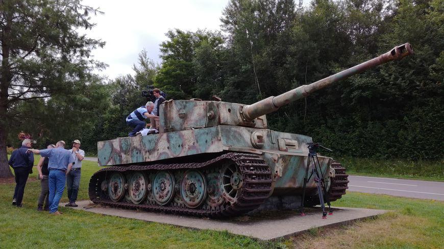 Orne le char tigre de vimoutiers bient t restaur for L interieur du char de vimoutier