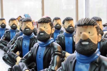 Figurines du Capitaine Haddock