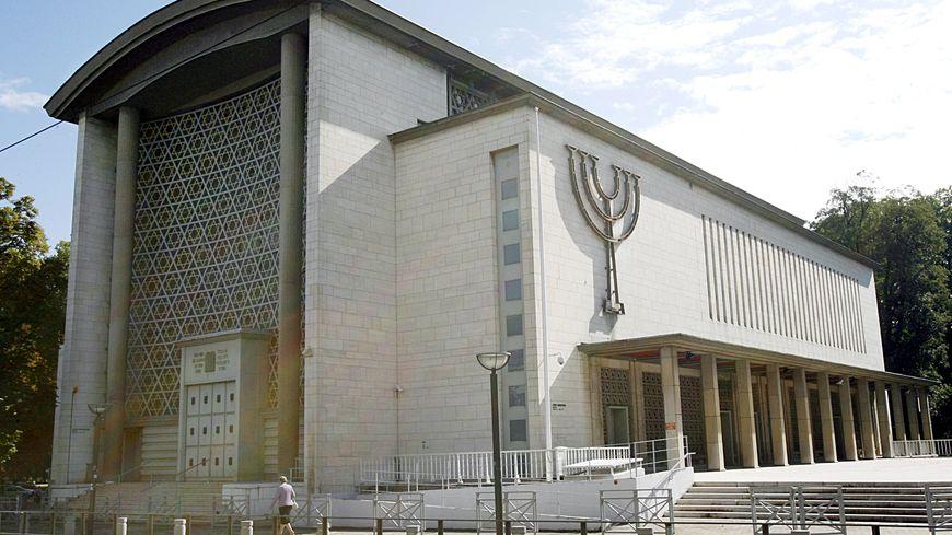 La grande synagogue de Strasbourg : la ville compte l'une des plus importantes communautés religieuses de France.