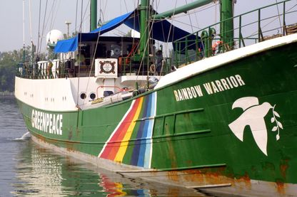 Rainbow Warrior, bateau de Greenpeace - Washington - 6 août 2001