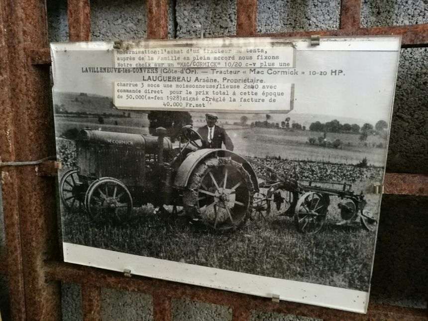 Le tracteur qui a donné envie à Guy Languereau de lancer sa collection, celui de son père en 1928