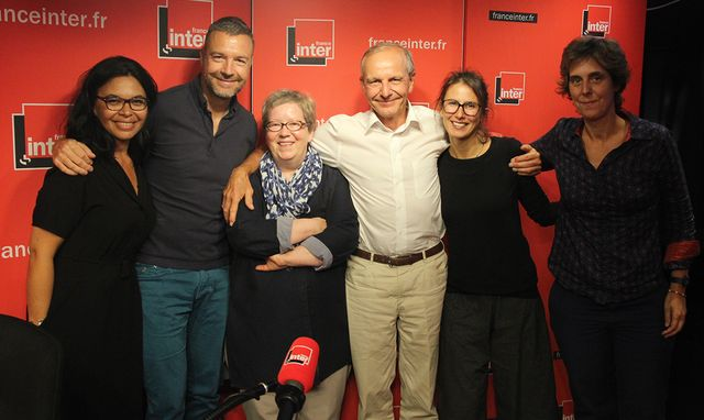 Chantal Le Montagner, Mathieu Vidard, Michèle Soulier, Axel Kahn, Lucie Sarfaty et Stéphanie Texier