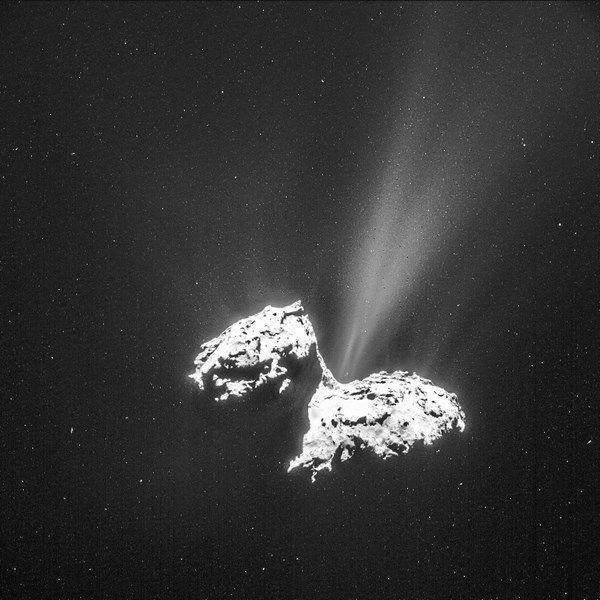La comète Chourimov-Guerasimenko