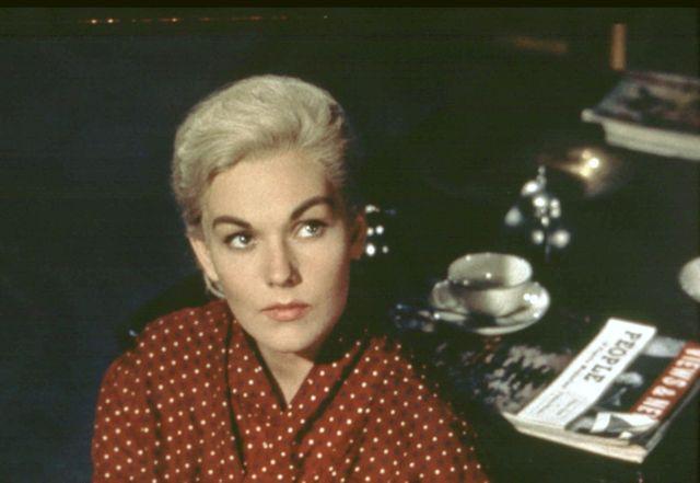 """Kim Novak dans """"Vertigo"""" d'Alfred Hitchcock (1958)"""