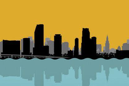 """""""Bloody Miami"""" de Tom Wolfe (détail de la couverture)"""