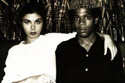 """""""La veuve Basquiat"""" (couverture, détail)"""