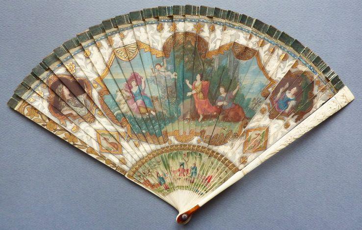 Eventail brisé, 1660. Collection particulière.