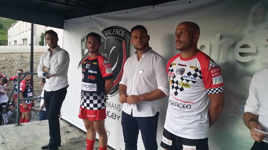 Les nouveaux maillots du Valence Romans Drôme Rugby