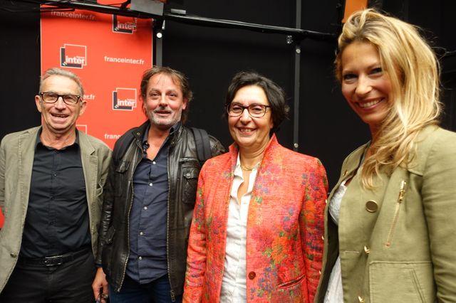 Patrice Van Eersel, Christophe Alévêque, Marine Cerf et Aurélie Godefroy