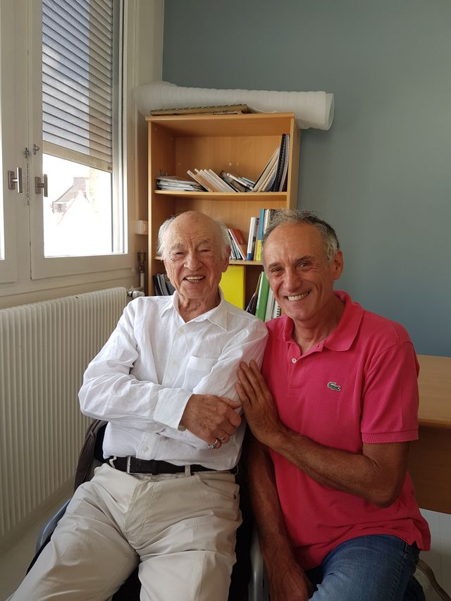 Edgar Morin et Denis Cheissoux