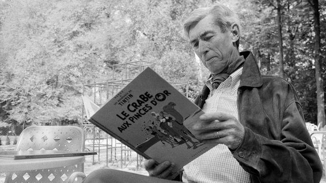 Hergé en 1982