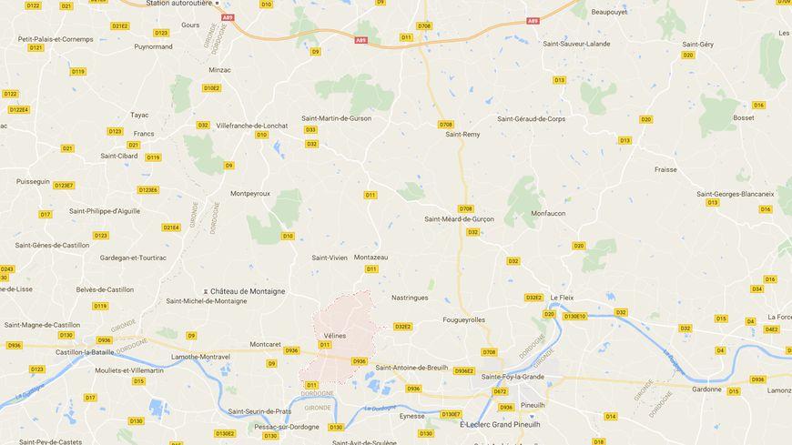 Le corps d'un jeune homme a été retrouvé à Vélines, près de la frontière avec la Gironde, en Dordogne.
