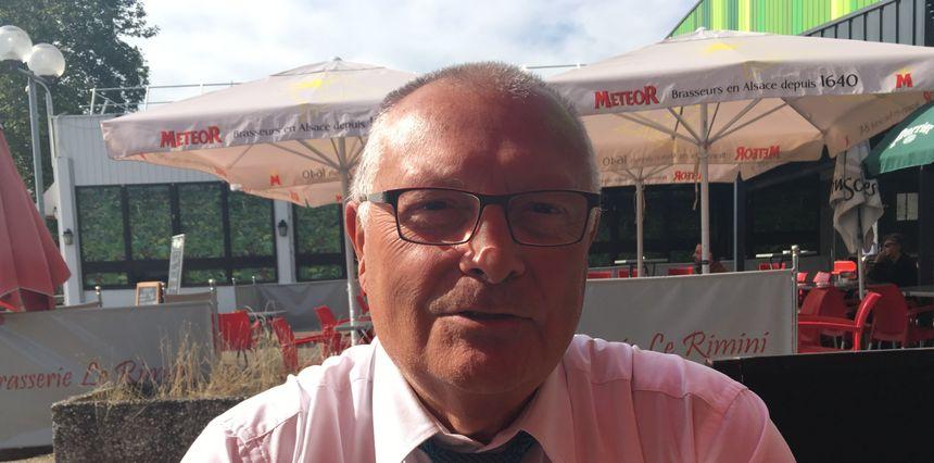 Jean-Claude Beining, le père de Cyril.