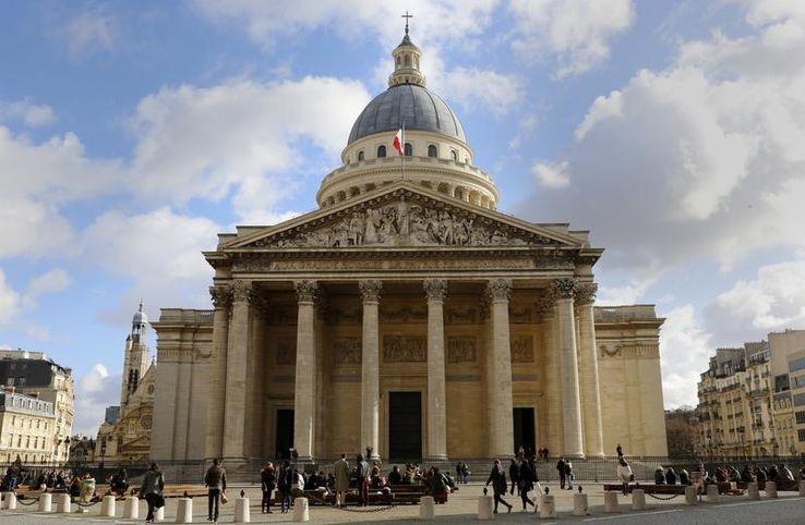 Le Panthéon, en février dernier.