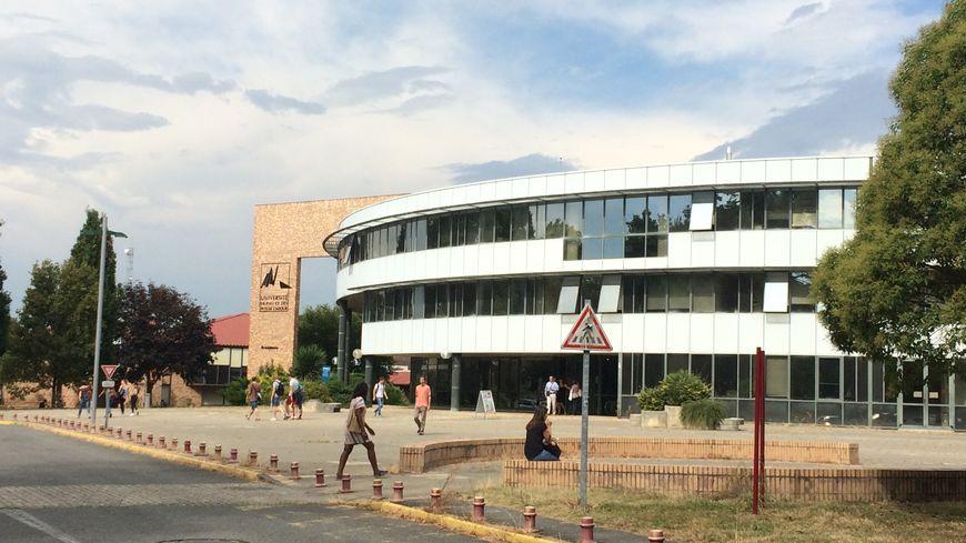 Le campus de l'UPPA à Pau