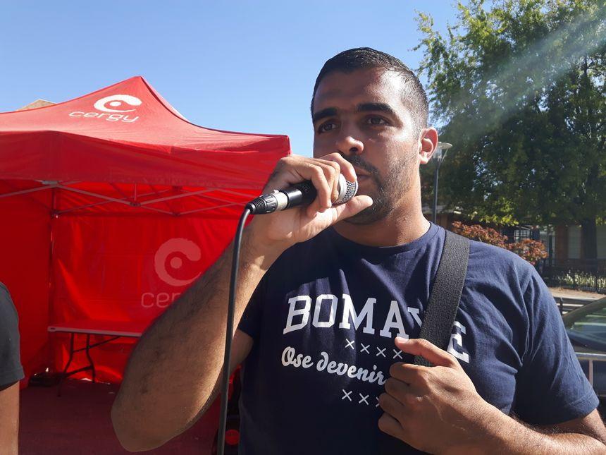 """Abdelah Boudour, président de l'association """"Force des mixités"""""""