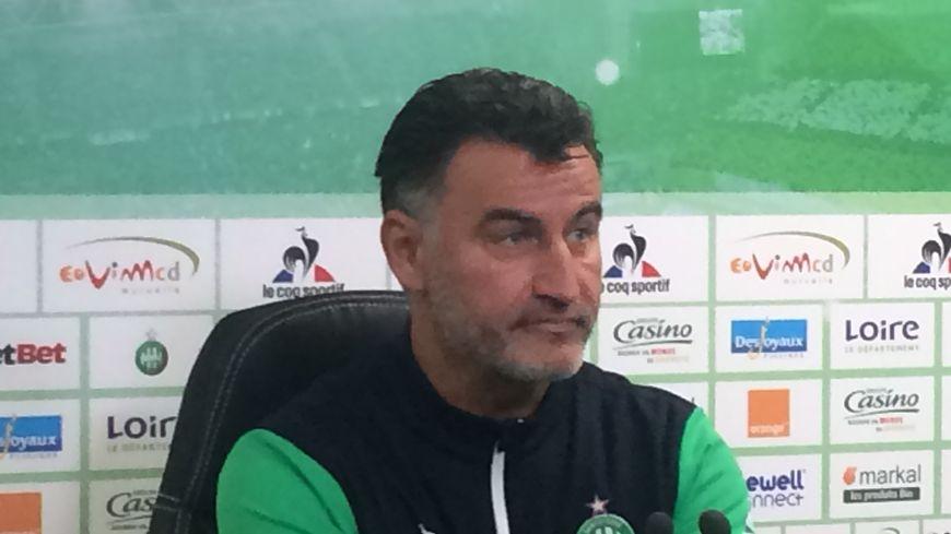 Christophe Galtier le coach stéphanois