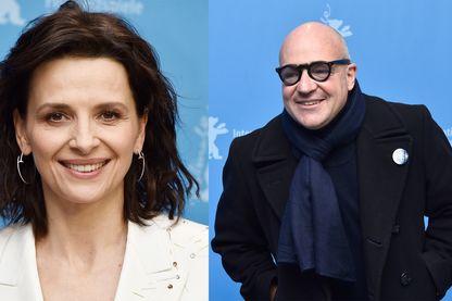 Juliette Binoche et Gianfranco Rosi