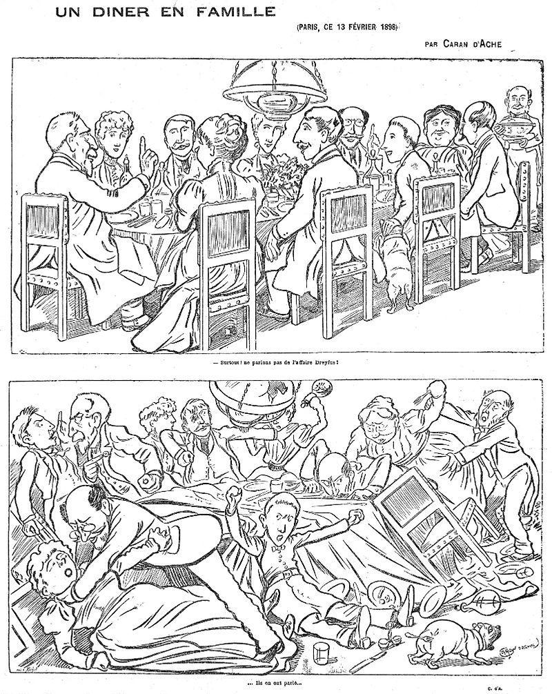 Un dîner en famille (Paris, 13 février 1898)