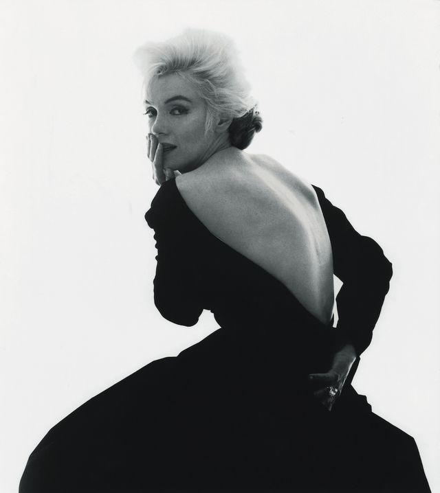 Marilyn Monroe The Last Sitting Black Dress