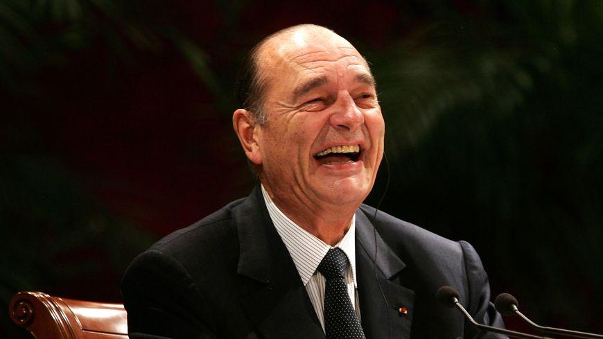 Jacques Chirac, ici en 2006 à Pékin, a ponctué la vie politique de nombreuses phrases cultes.