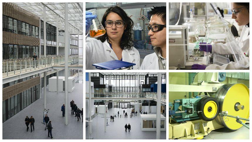 On trouve à Ladoux le travail en laboratoire, la fabrication de prototypes, les tests sur les pistes en conditions réelles.