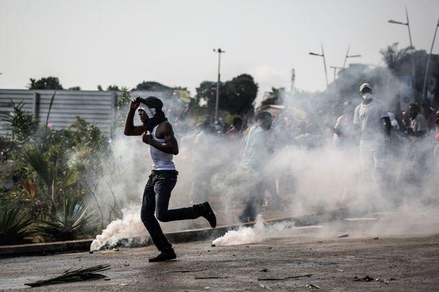 Les affrontements ont commencé mercredi après-midi à Libreville
