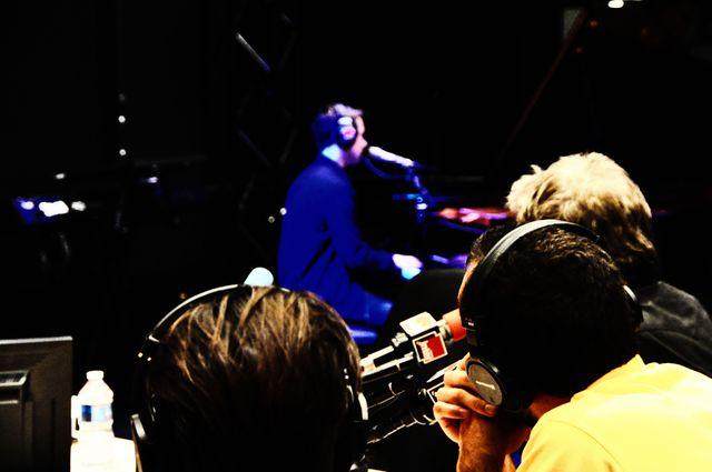 Tim Dup en live sous le regard de Jean-Michel Jarre et Synapson
