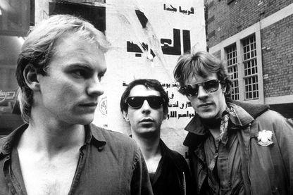 Sting, Henry Padovani et Stewart Copeland
