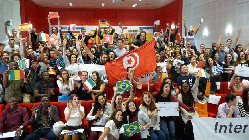 Près de 200 étudiants étrangers ont participé à la journée d'accueil (crédit photo : Université de Limoges)
