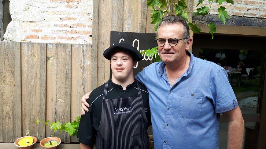 Yvan a été embauché en CDI au restaurant Le Résinier du Barp