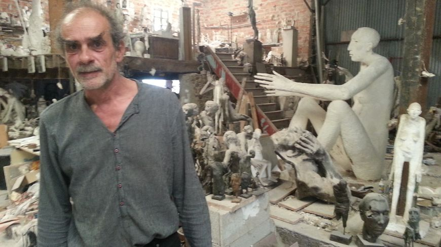 fd77c534d06 C est la fin de l exposition du sculpteur Marc Petit à Limoges