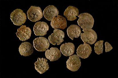 Statères celtiques du Trésor de Laniscat
