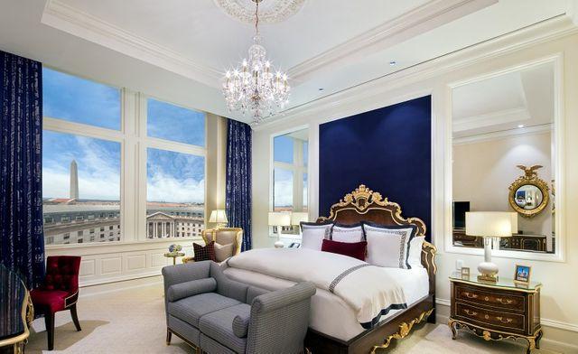 Hotel Trump : les chambres