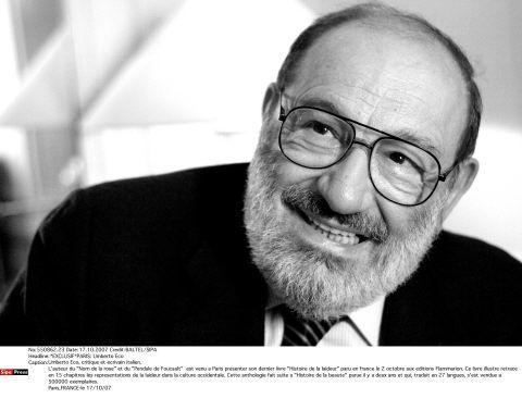 Umberto Eco à Paris en 2007.