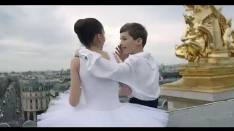 Image extraite du film de promotion de Paris réalisé par Jalil Lespert