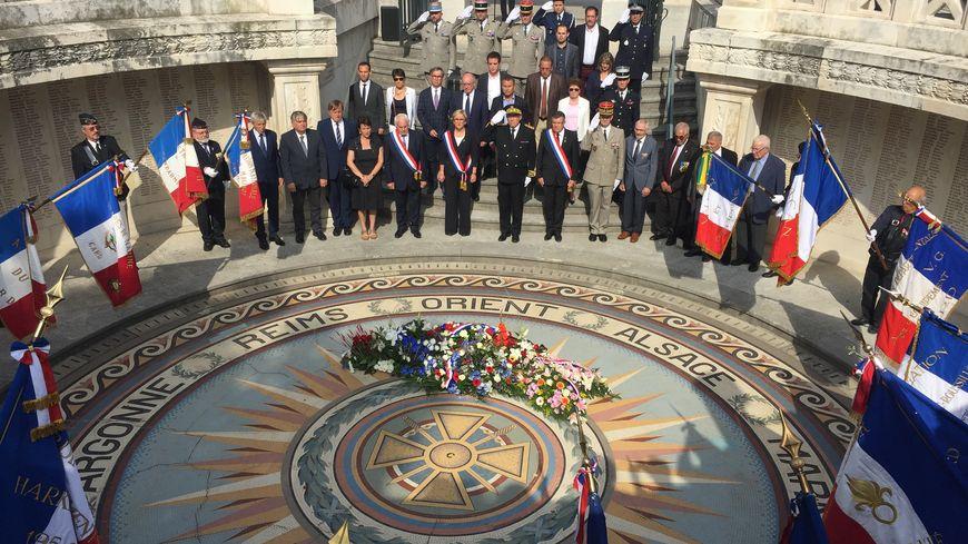 Cérémonie d'hommage aux harkis à Nîmes