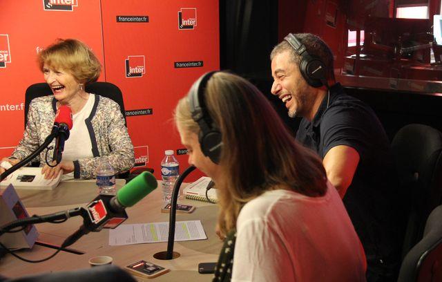 Myriam Revault d'Allonnes, Charline Vanhoenacker et Ali Baddou